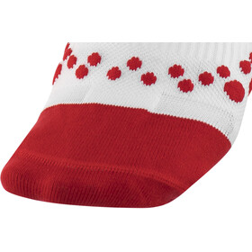 Compressport Racing V2.1 Run Low Socks white/red